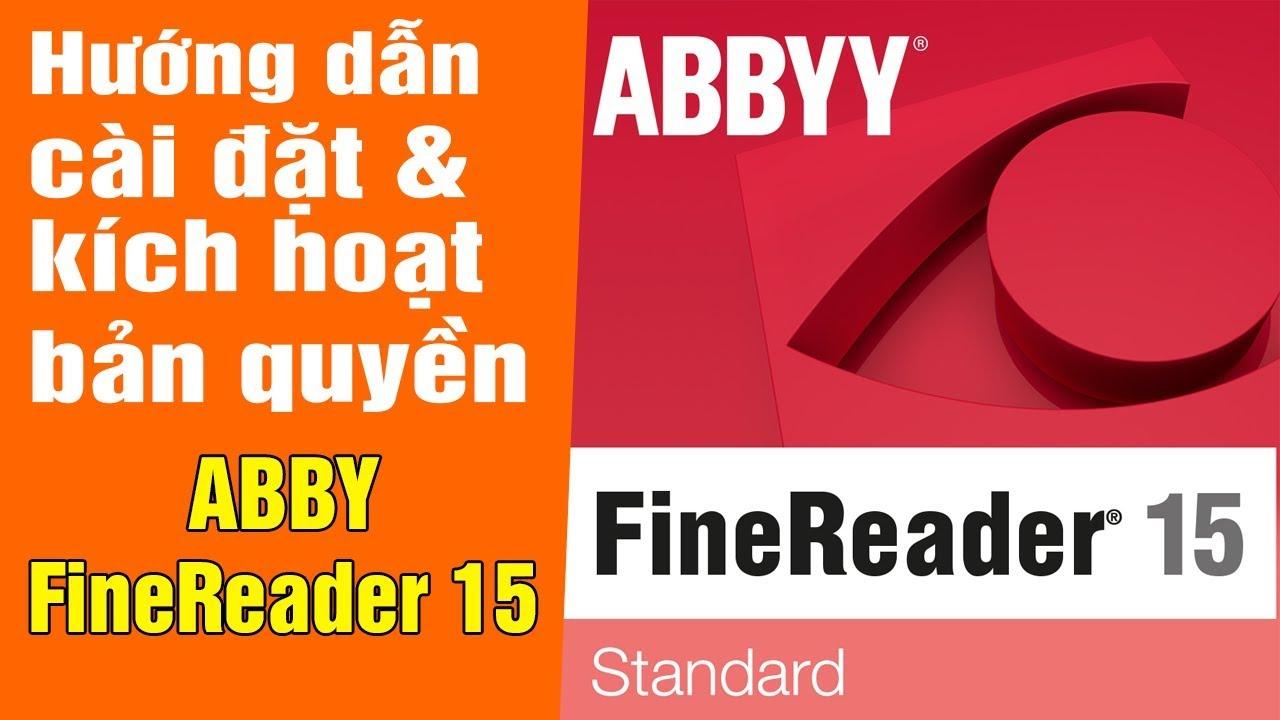 ABBYY FineReader 15 Full Key – Chuyển hình ảnh thành chữ