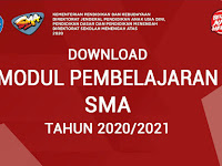Download Modul Pembelajaran SMA Terbaru Tahun 2020/2021