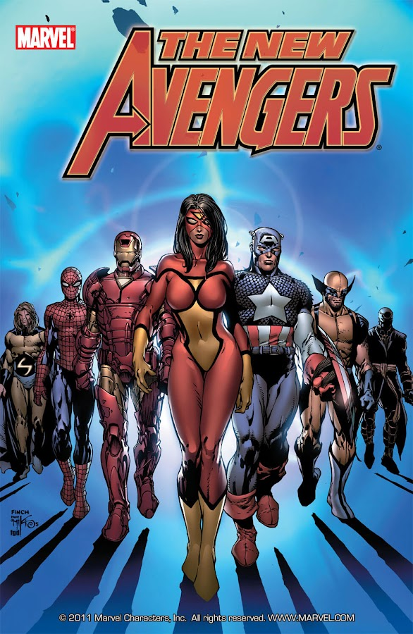 new avengers marvel comics brian michael bendis david finch
