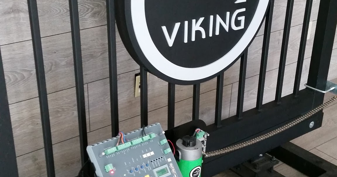 Viking access systems slide gate openers