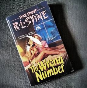 book review the wrong number fear street rl stine