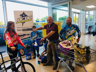 Belfast City Bmx Club at Tesco Bag Packing