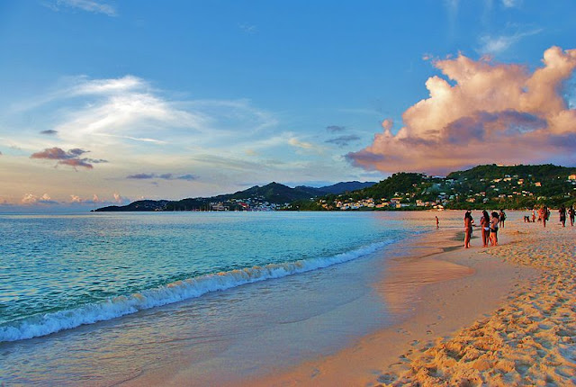 Pantai Grand Anse, St. George