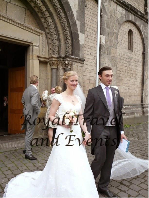Noble Wedding At Andernach