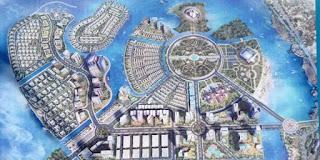 Kawasan Center Poin of Indonesia (CPI) yang akan dilakukan hasil reklamasi Pantai Losari