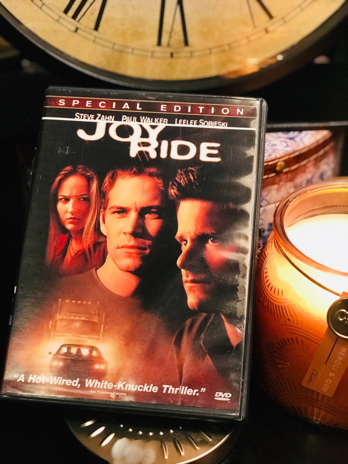 Image: Tangie Bell sharing her movie pick Joy Ride in her Weekend Bits and Favorites. Seen First ob Bits and Babbles Blog