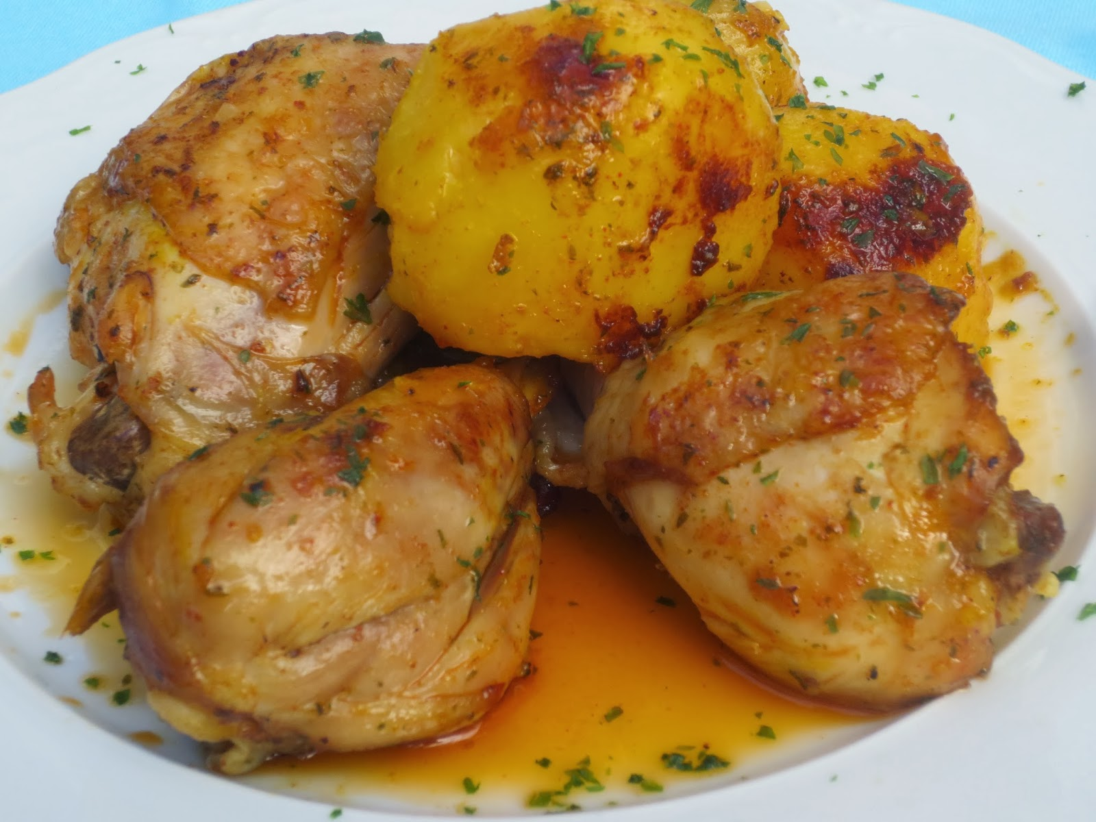 Pollo marroquí olla GM