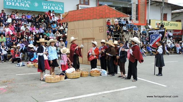 Escenificación El Pediche – Estampa Costumbrista realizado la escuela Santa Rafaela María