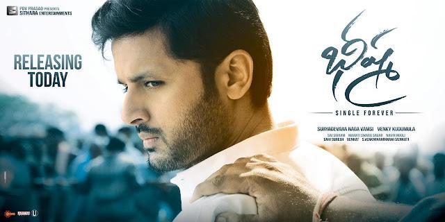 Nithiin, Rashmika Bheeshma Talk, Nithiin Bheeshma Review ,Bheeshma Review,Bheeshma Review,Bheeshma Rating,Bheeshma Talk.Rashmika Bheeshma ,Nitin Bheeshma ,Nitiin Bheeshma ,Bheeshma Public Response,Bheeshma Hit or Flop,Bheeshma Telugucinema Review,Bheeshma Movie News,Bheeshma Talk,Bheeshma Ratings,Bhishma, Reviews,bheeshma rating on Twitter,Bheeshma Telugu Movie Review,Bheeshma Telugu Movie Review and Rating.Telugucinemas Bheeshma Telugu Movie Review and Rating