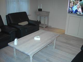 gerenoveerde salontafel
