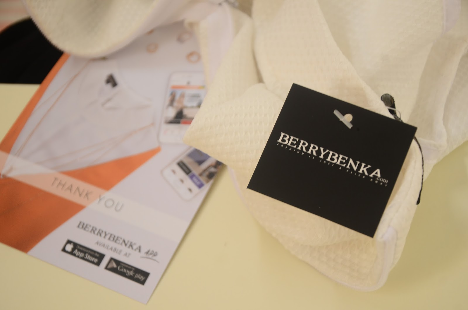 Shopping Experience at BERRYBENKA.COM ~ Brilsya