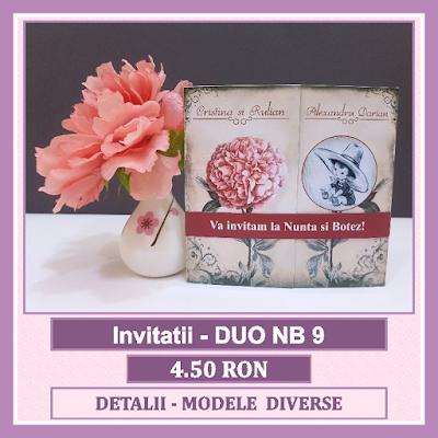 http://www.bebestudio11.com/2018/04/invitatii-nunta-si-botez-duo-nb-9.html