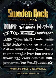 FM - Sweden Rock 2019 - poster