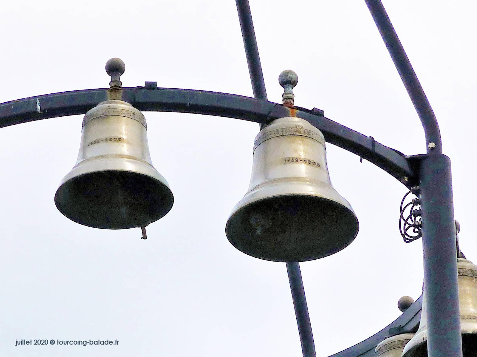 Cloches du Carillon de l'église St Joseph, Tourcoing 2020