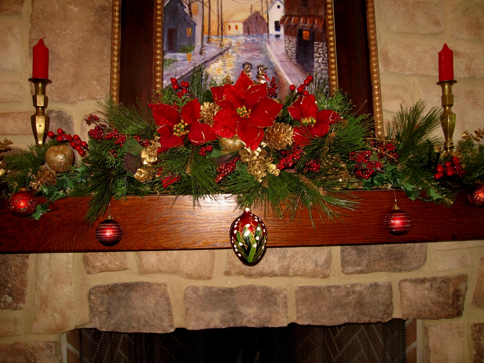 Emma Wood Romances: Decorating For Christmas On A Budget Part2