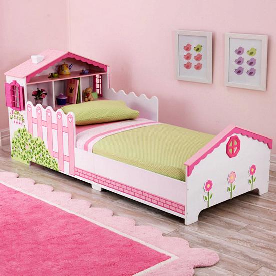 10 Model Tempat Tidur Minimalis Untuk Anak Perempuan Bertema Pink ! - Unik dan Sederhana