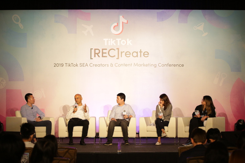 Here's what happened in TikTok's [REC]reate conference in Singapore