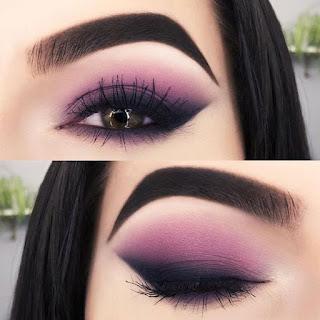 sombras de ojos color morado