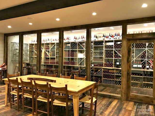 Not only does King Family Vineyards in Crozet, Virginia have a polo field (they host polo matches every Sunday), a spacious tasting room, & a separate event space, but they also happen to have their very own wine library.
