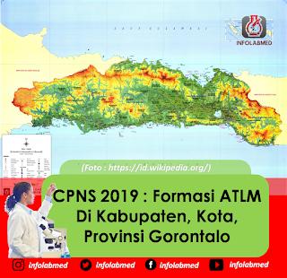 CPNS 2019  Formasi ATLM Di Kabupaten, Kota, Provinsi Gorontalo