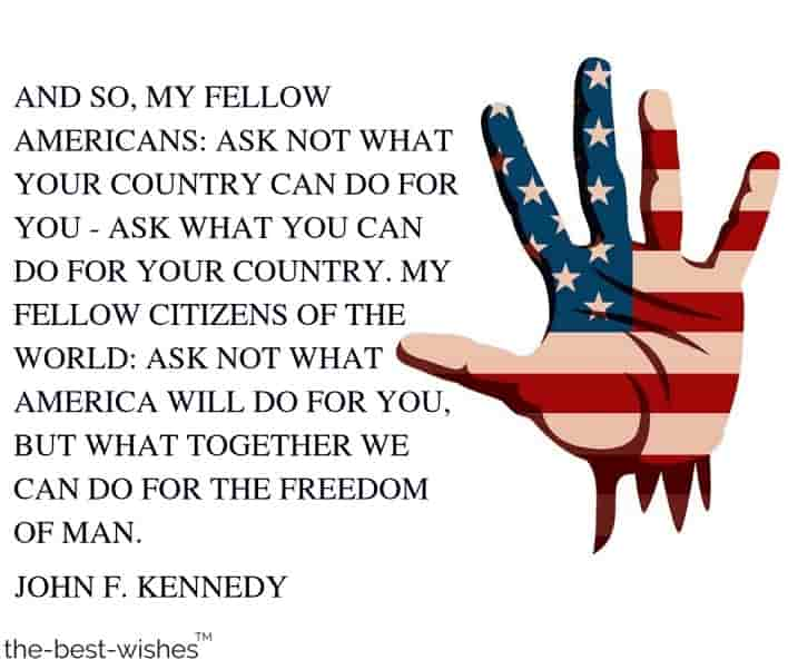 famous 4th of july quotes by john f kennedy