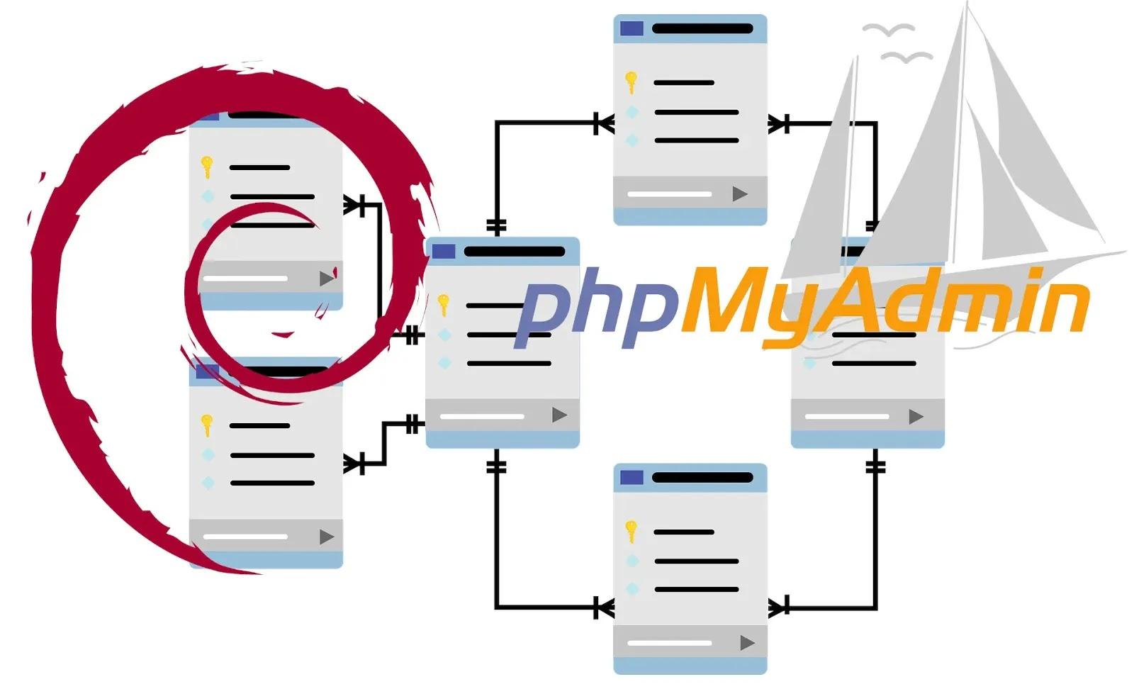 Phpmyadmin Debian 10 Instalasi dan konfigurasi di mariadb dan Nginx