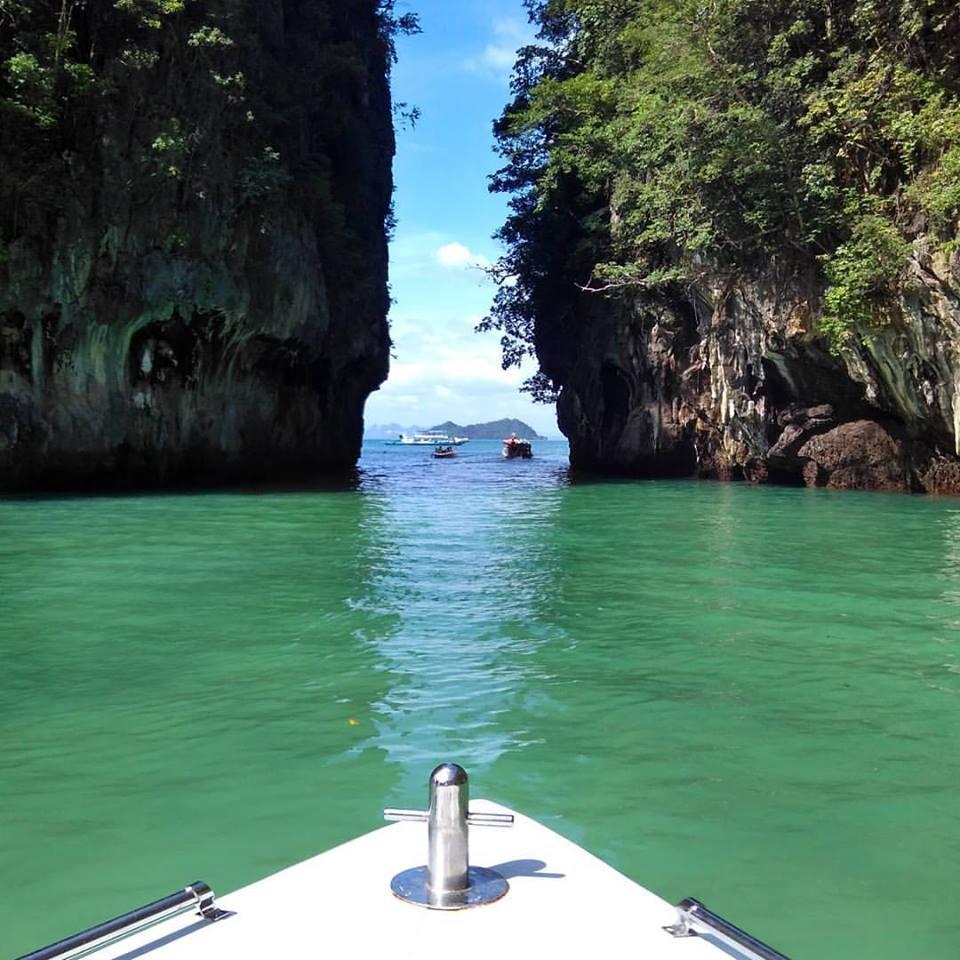 Praias ao sul da Tailândia