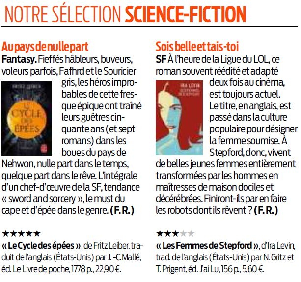 Black Libelle Selection Sf 16 Juin 2019