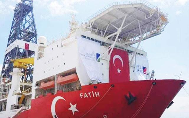 Ξεμένει από πλήρωμα το τουρκικό γεωτρύπανο