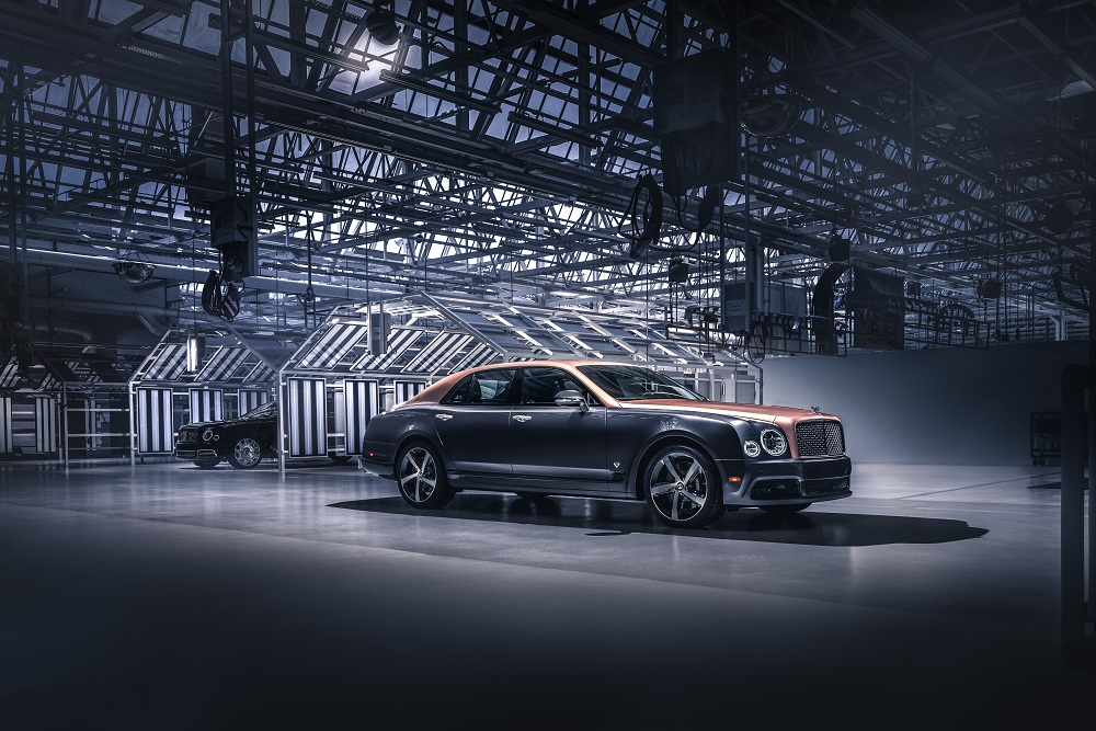 Bentley Mulsanne has ended production after more than a decade