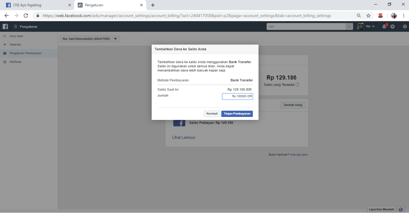 Cara Membuat Iklan Di Facebook Dan Instagram Nursaidr