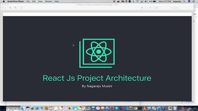 React-Redux Project Architecture