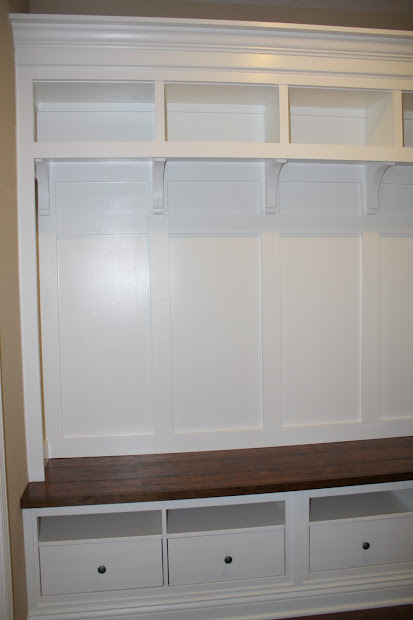 IKEA Mudroom Storage