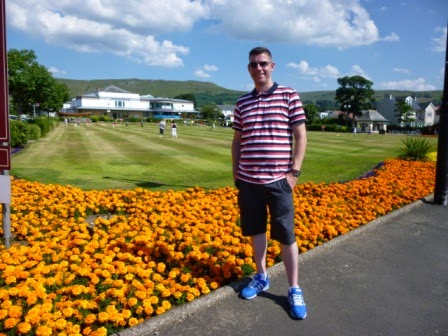 Miniature Golf in Largs, Scotland