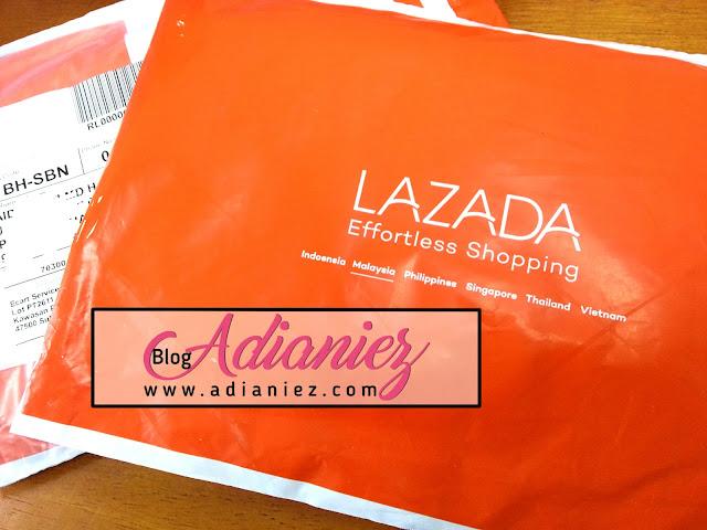 Lazada Sorry Voucher Yang Expired... Dapat Bawal Aidijuma :-)