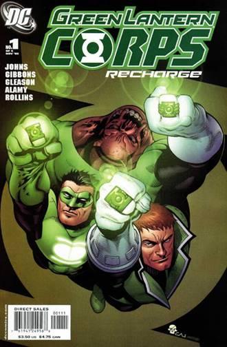 Kilowog, Guy Gardner y Kyle Rayner de los Green Lantern Corps: Recarga