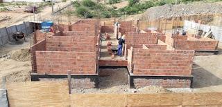 Em Picuí, construção da UBS do JK continua em ritmo acelerado