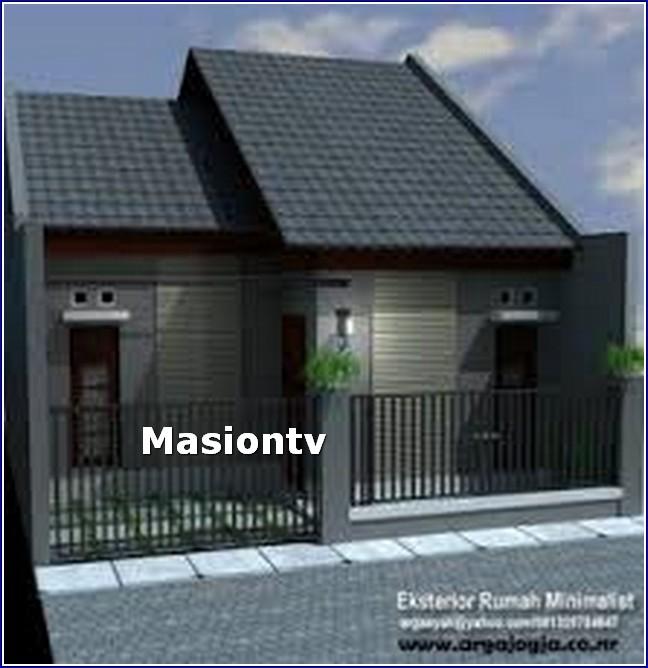 Desain Rumah Pintu Samping Minimalis Situs Properti Indonesia