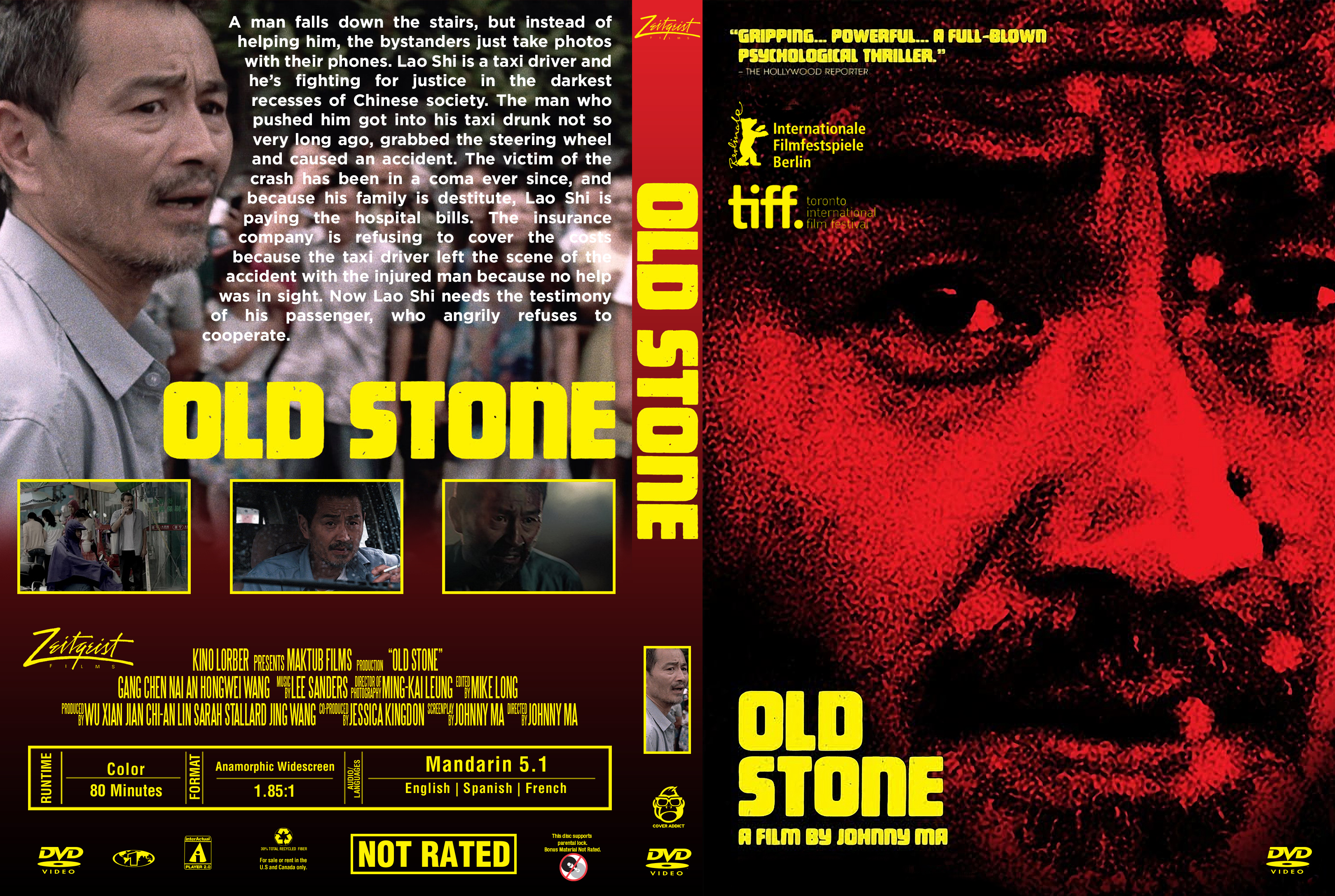 Old Stone DVD Cover Cover Addict DVD Bluray Covers