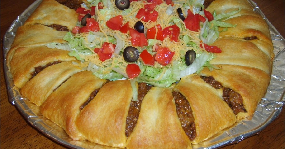 Couponing In Ok Baked Taco Ring Recipe