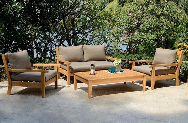 Teak Garden Lounge Set