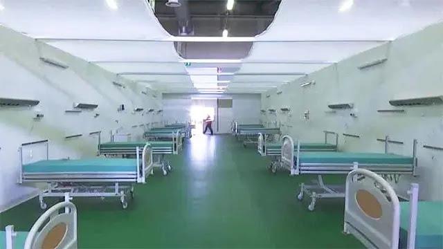 إفتتاح مشفى ميداني لمكافحة الجائحة بالحسيمة مجهز بحوالي مائة سرير