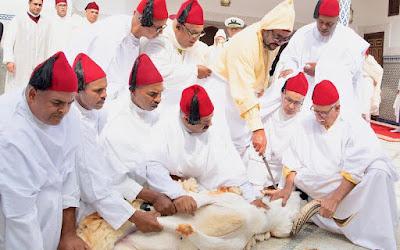 تهنئة مرفوعة إلى صاحب الجلالة الملك محمد السادس بمناسبة عيد الأضحى المبارك