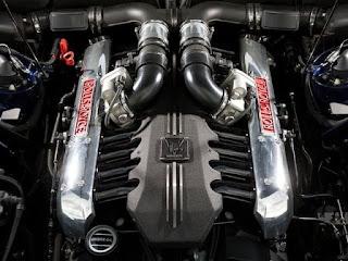 Mesin Mobil Rolls Royce