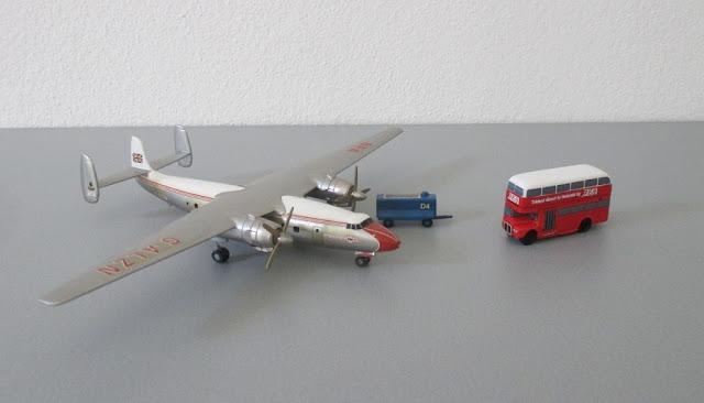 1/144 1/200 Airspeed Ambassador diecast metal aircraft miniature