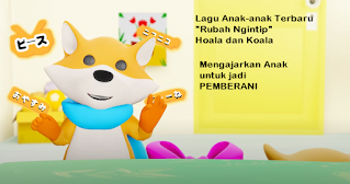 Lagu Anak Rubah Ngintip Hoala Koala