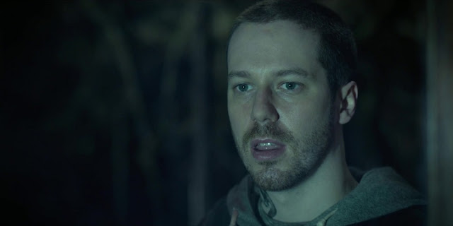 John Gallagher Jr. em HUSH: A MORTE OUVE (Hush)