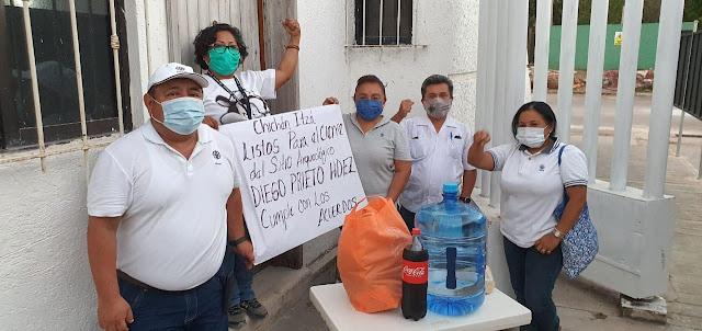 Respaldan 22 organizaciones paro de labores en el Centro INSH Yucatán