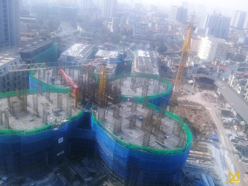 Cập nhật tiến độ xây dựng chung cư Sky View Plaza