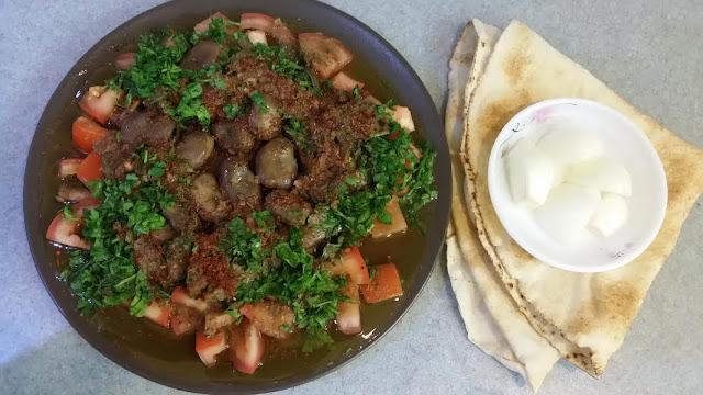 Foul Mudammas or Fava beans